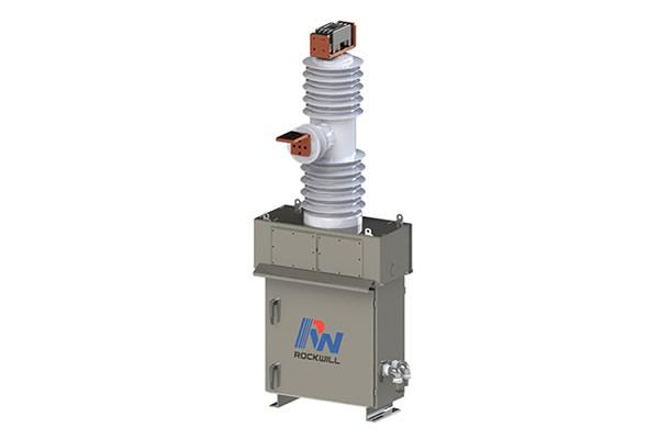 Railway application vacuum circuit breaker