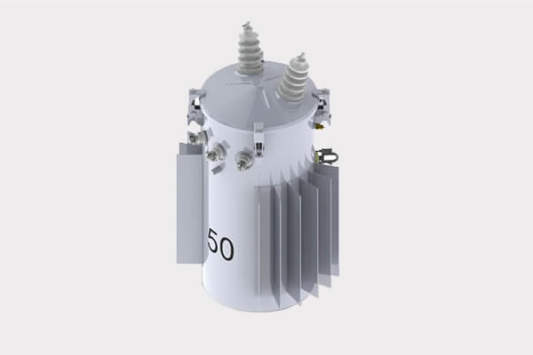 50kVA Conventional oil immersed pole mounted distribution transformer 13.2/7.62kV