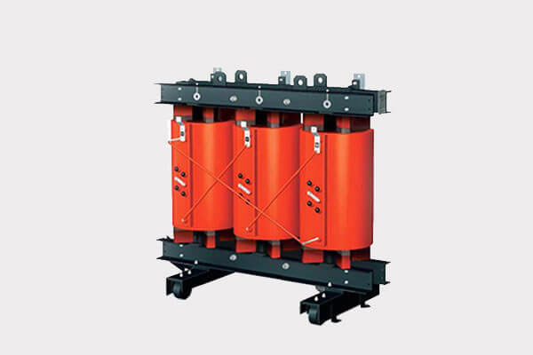 Three phase dry type distribution transformer