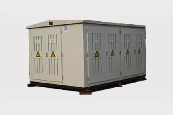 Container type unitized substation