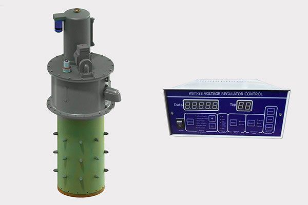 on load tap changer and controller for three phase transformer