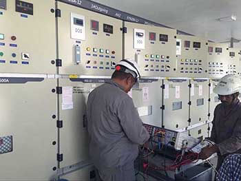 Pakistan K-electric switchgear from rockwill electric