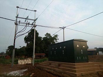 rockwill compact substation in congo
