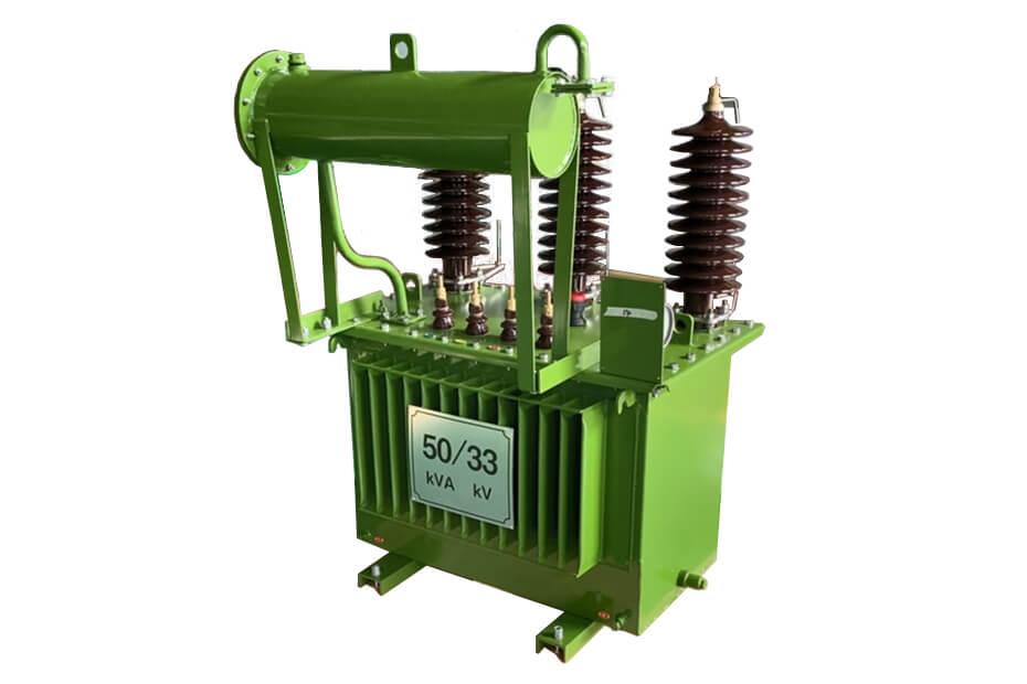 33kV 50kVA Oil Immersed Distribution Transformer