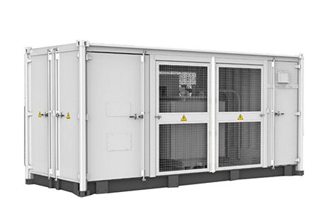 Container type BitCoin Mining substation