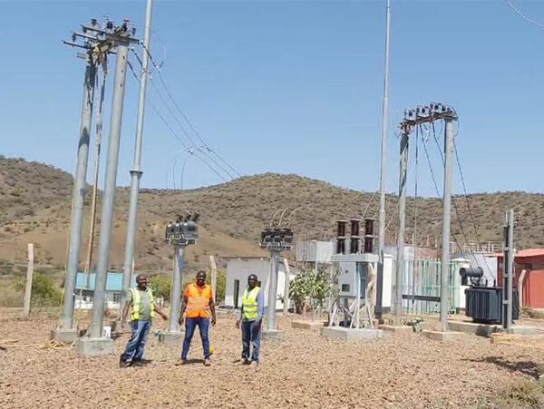 Kenya Diesel Generation Substation Project