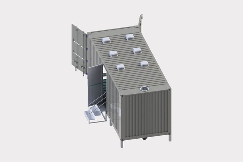 China containerized mobile substation