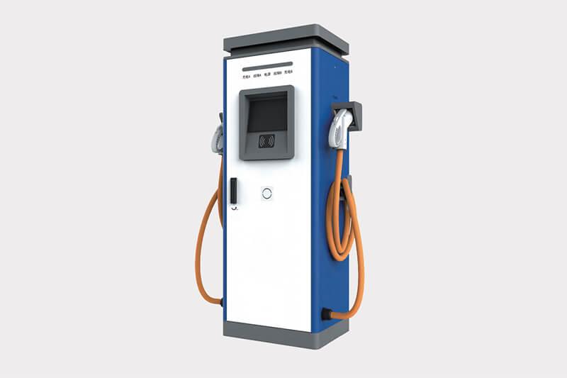 China DC fast EV charging station