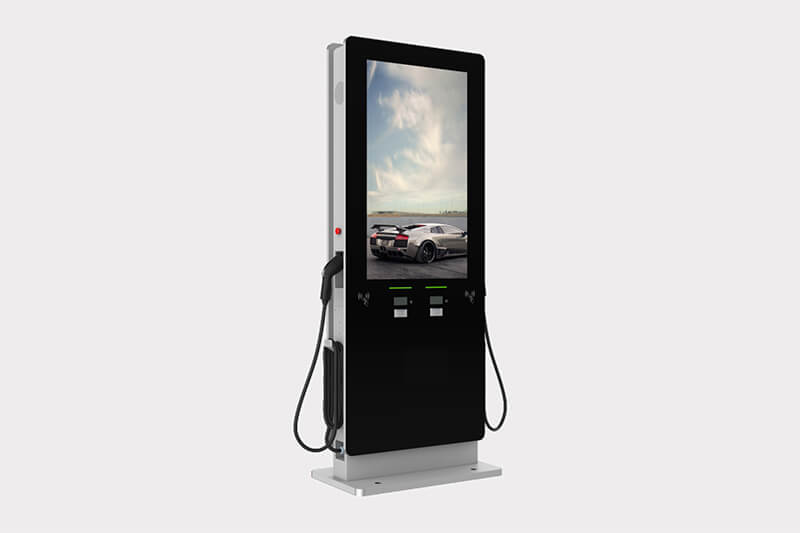 AC EV Charging Pile with LCD Display