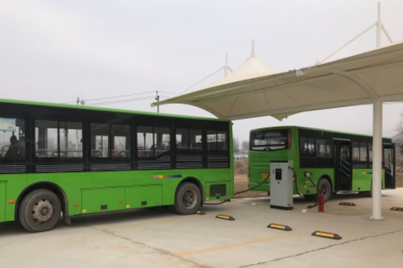 electrical bus charging station