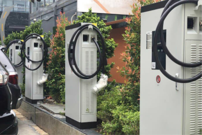 Distributed Charging Station project