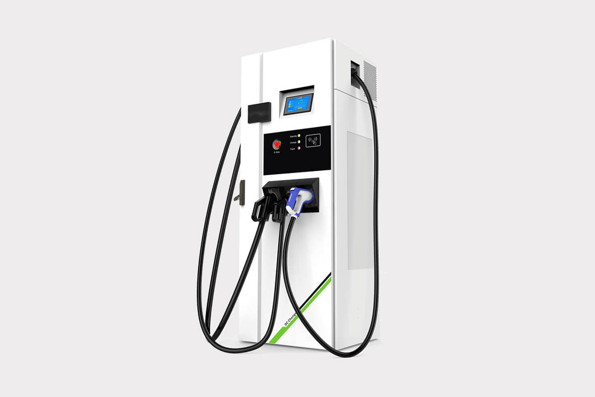 AC/DC Integrated public EV Charger